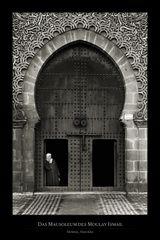 Das Mausoleum des Moulay Ismail
