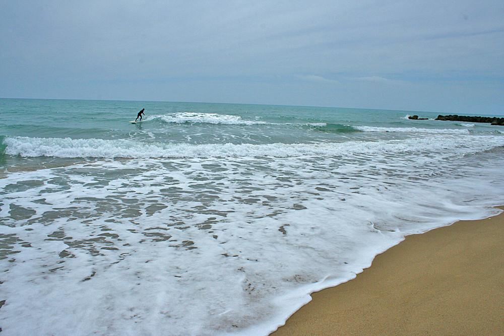 Das Meer bei San Leone