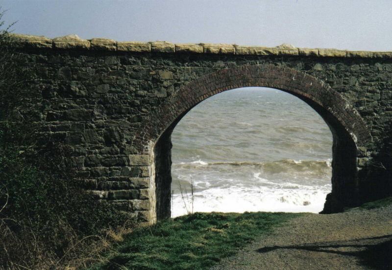 Das Meer hat es geholt