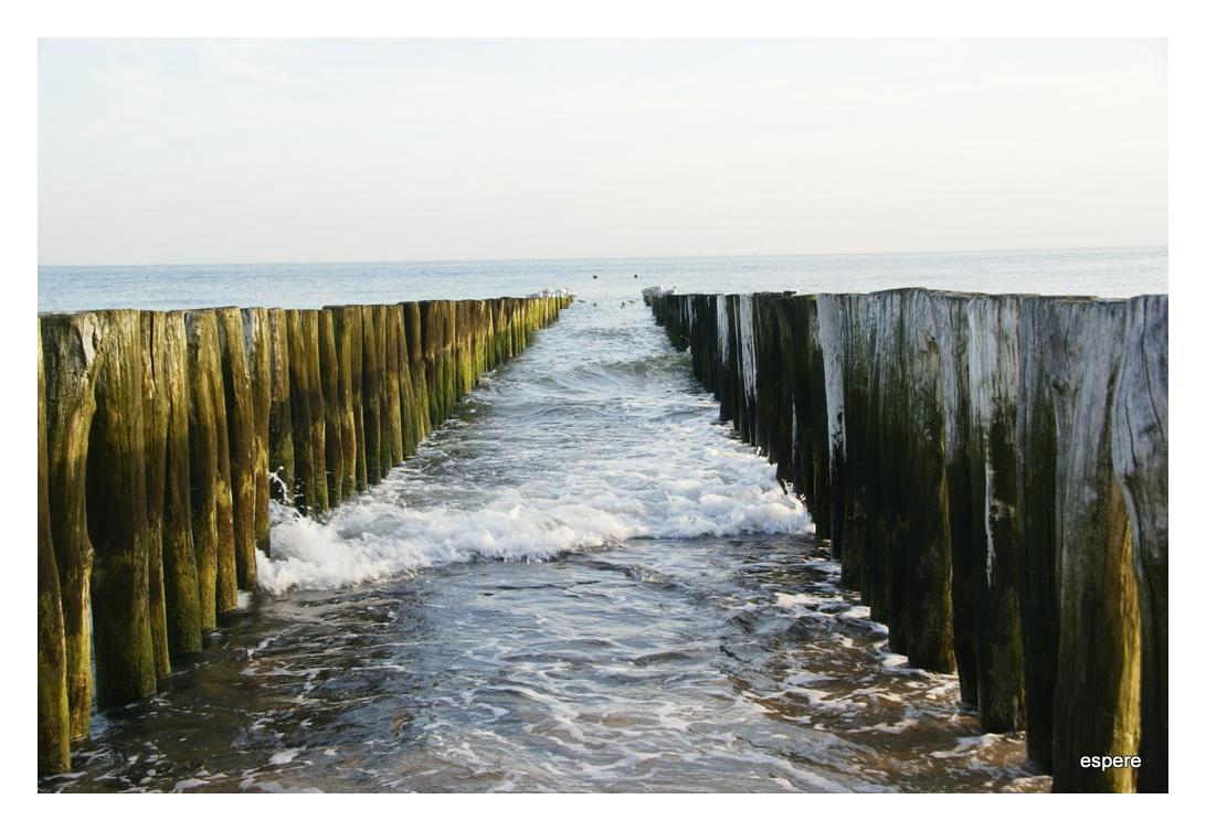 Das Meer kommt...