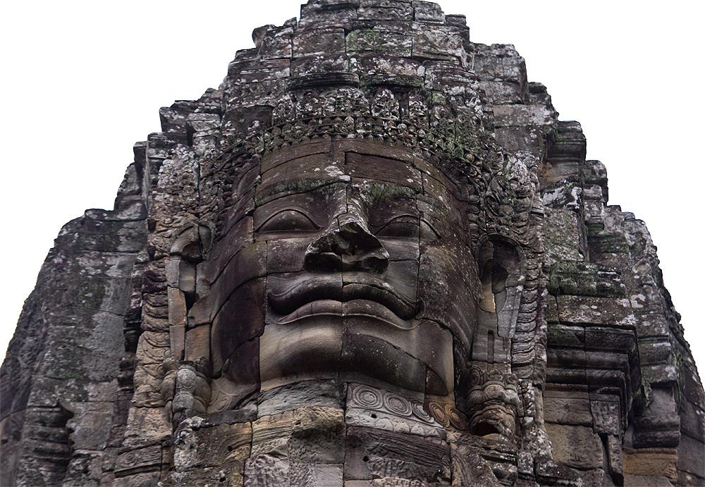 Das milde Lächeln von Angkor Wat