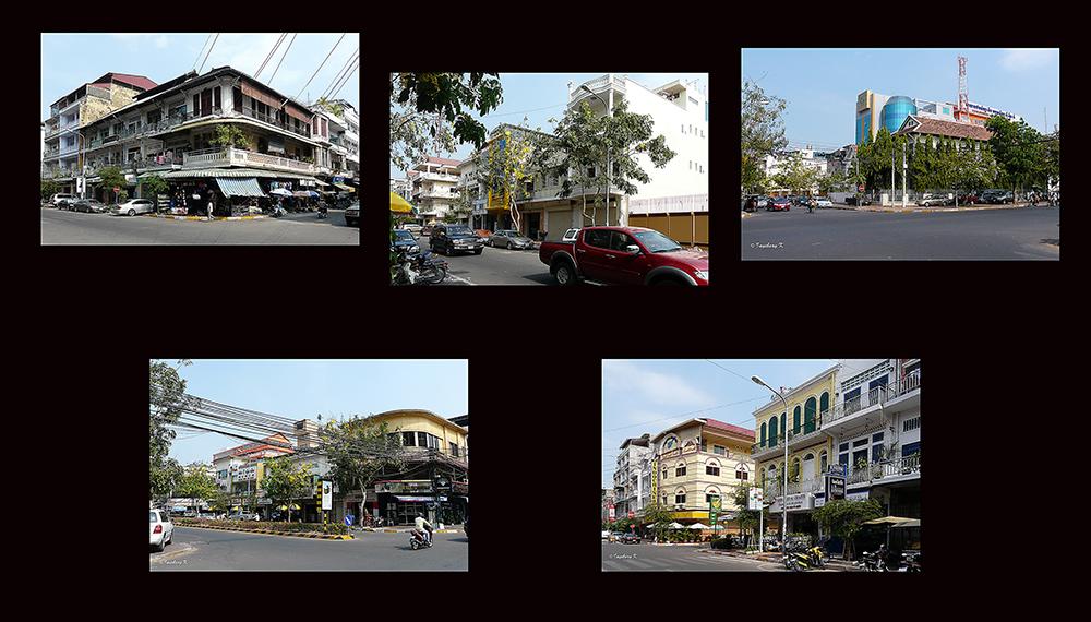 Das moderne Phom Penh
