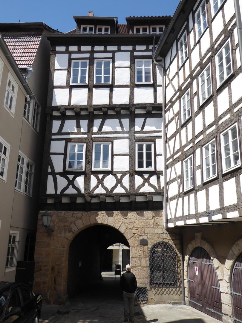 Das Münzmeisterhaus...