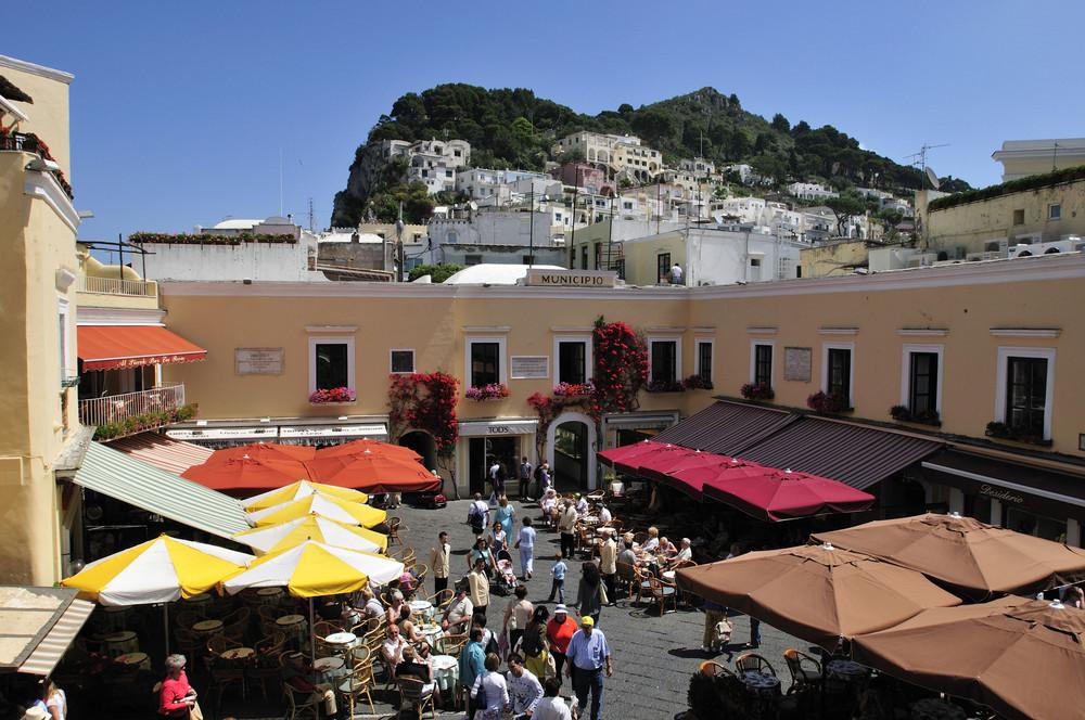 Das Municipio in Capri