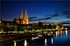 Das Museumsschiff auf der Donau