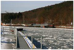 Das nasse Dreieck Riesenbeck/Bevergern Winter 2010