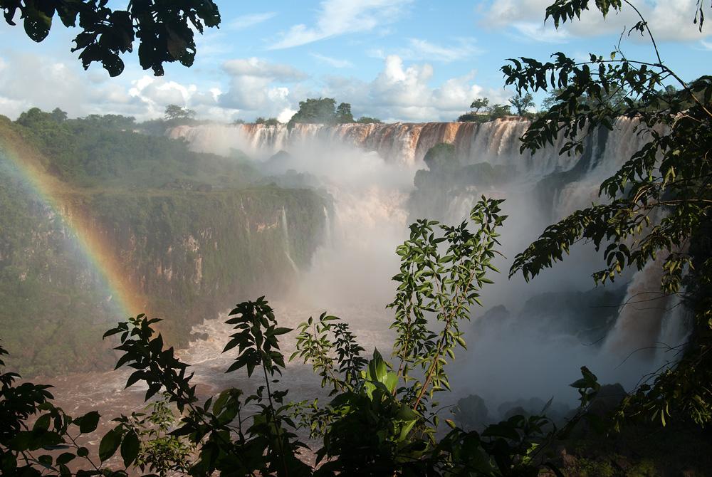 Das Naturwunder Iguacu Wasserfälle