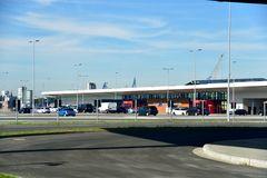 das neue Cruise Center Hamburg