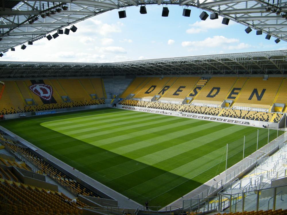 Das neue Dynamo-Stadion