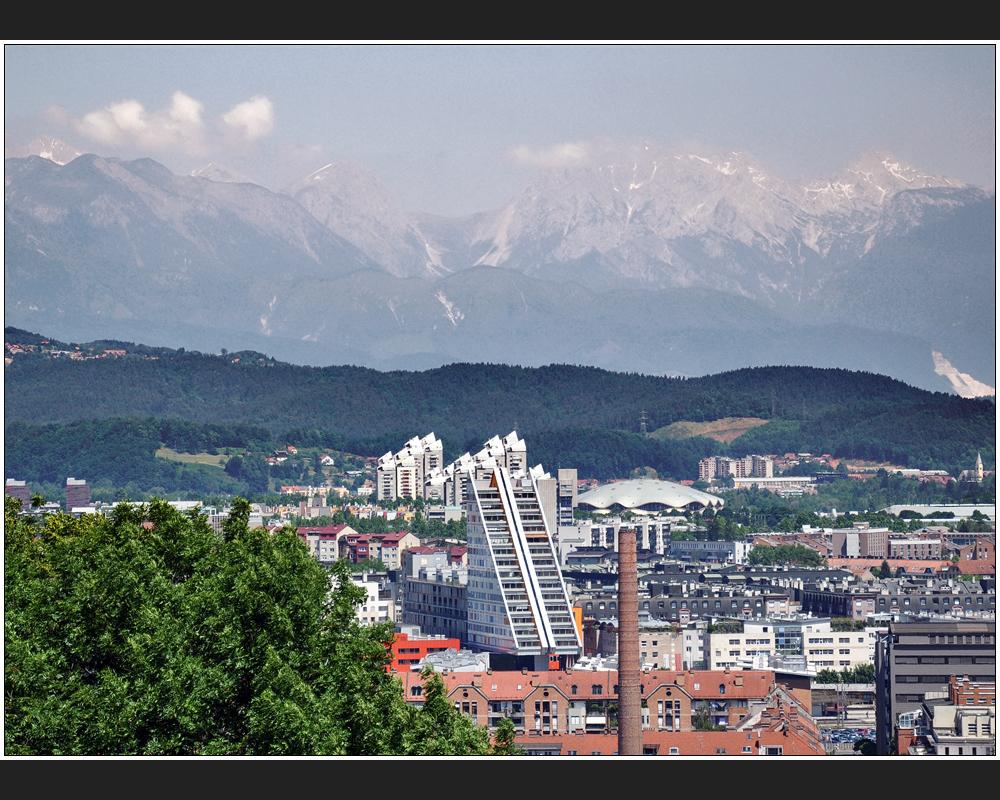 Das neue Ljubljana