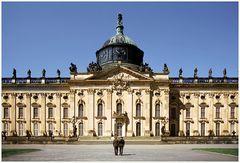 Das Neue Palais im Park Sanssouci Potsdam