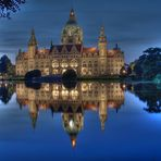 Das neue Rathaus aus Hannover
