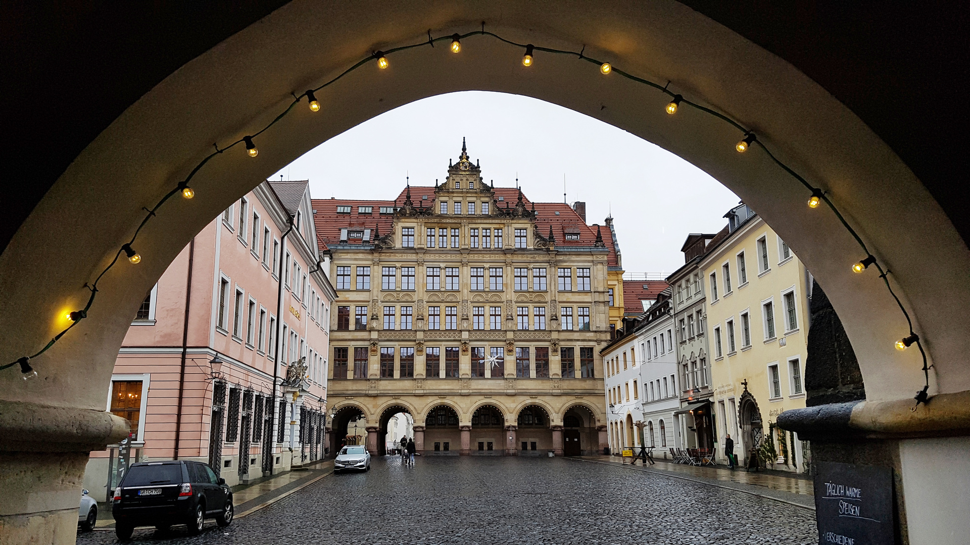 Das neue Rathaus in Görlitz