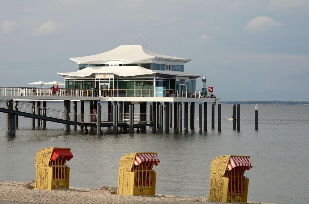 Das neue Teehaus am Timmendorfer Strand