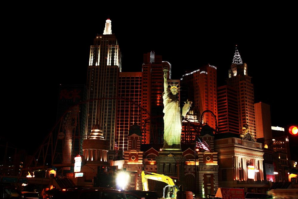 Das New York in der Wüste