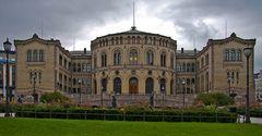 Das norwegische Parlament (Stortinget)