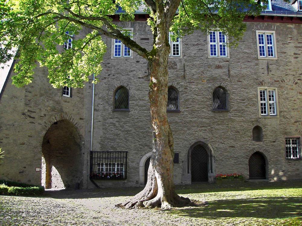Das Obere Schloss in Siegen (Siegerland)