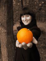 Das Orangenmädchen I