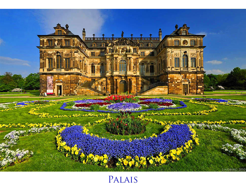 das palais im gro en garten dresden foto bild architektur stadtlandschaft historisches. Black Bedroom Furniture Sets. Home Design Ideas