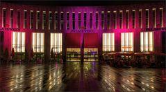 Das Palais Vest leuchtet ...