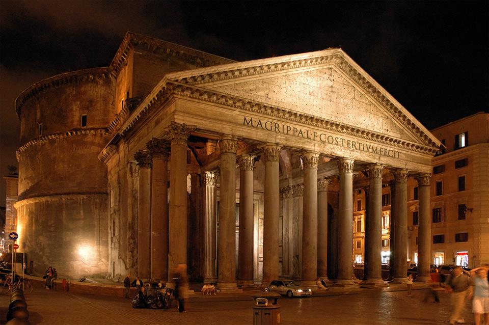 ...das Pantheon...