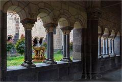 """Das """"Paradies"""" mit dem Löwenbrunnen"""