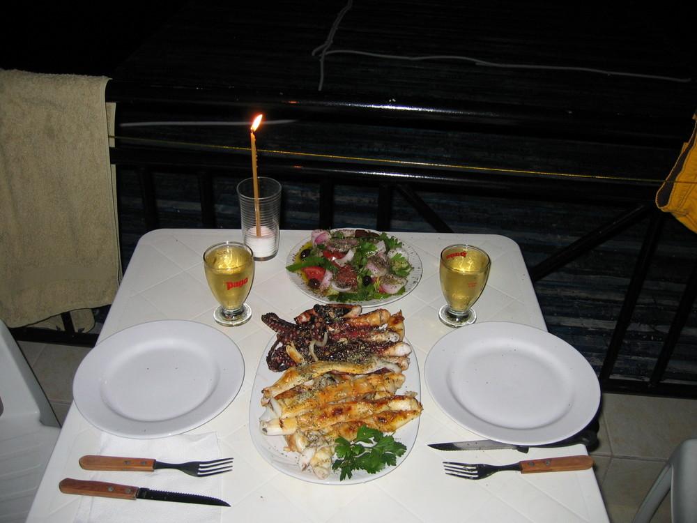 ... das perfekte Dinner ...