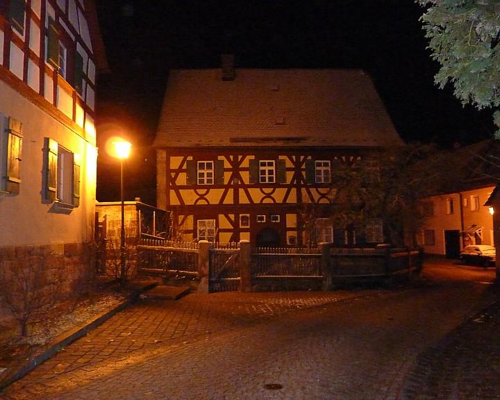 DAs Pfarrhaus in Roßtal