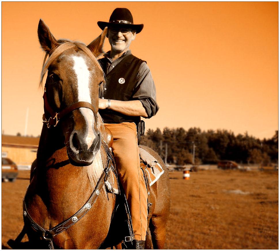 das pferd und sein cowboy foto bild sport sport mit tieren pferdesport bilder auf. Black Bedroom Furniture Sets. Home Design Ideas