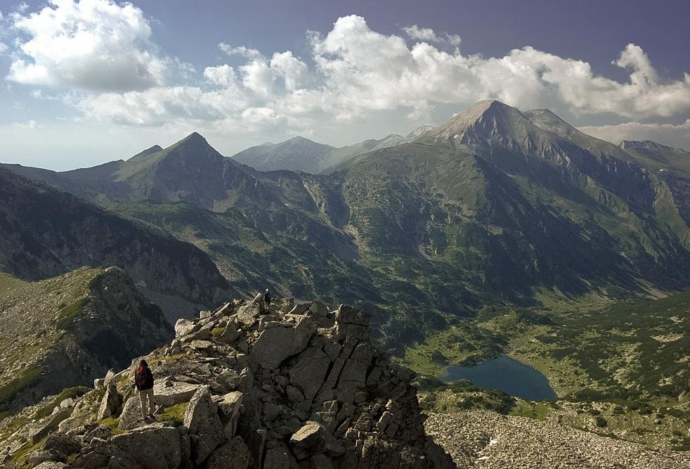 Das Pirin-Gebirge, Bulgarien
