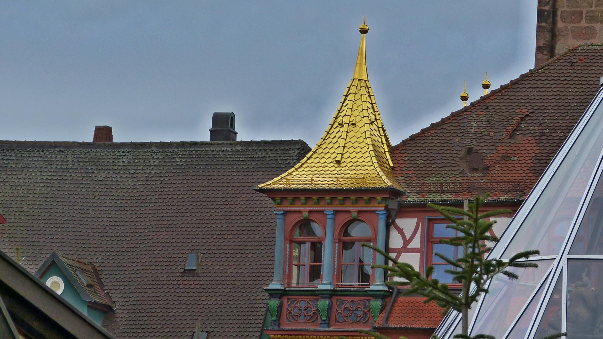 Das prächtige Rathaus von Schwabach