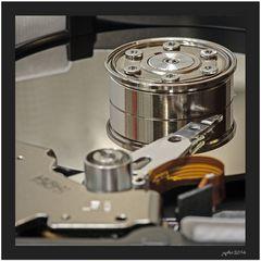 Das Prinzip der Festplatte...
