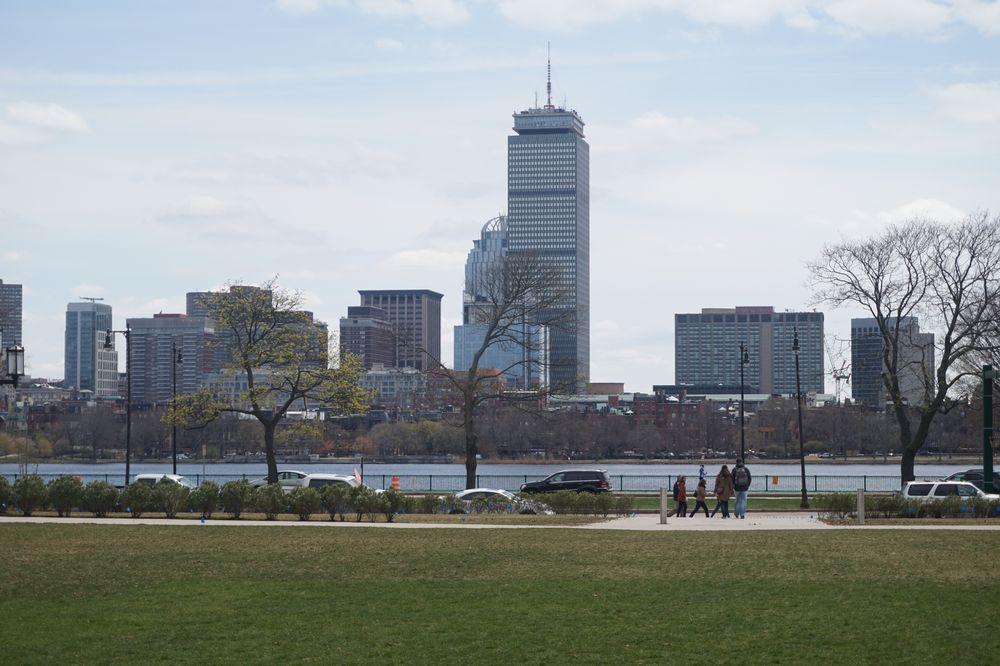 Das Prudential Center in Boston