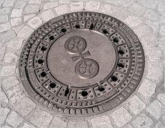 Das Rad im Mainzer Wappen