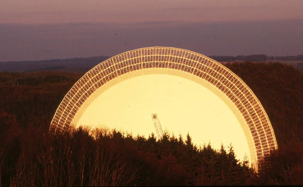Das Radioteleskop in Effelsberg