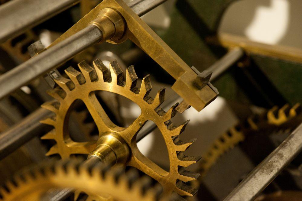 das Räderwerk der Zeit