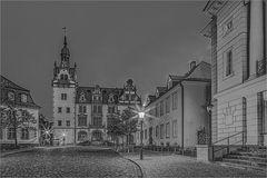 Das Rathaus Bernburg geht bei mir nur in s/w