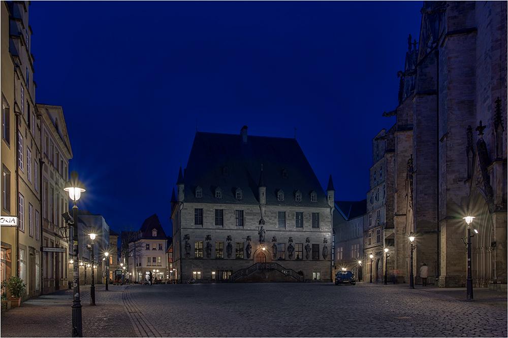 Das Rathaus des Westfälischen Friedens in Osnabrück