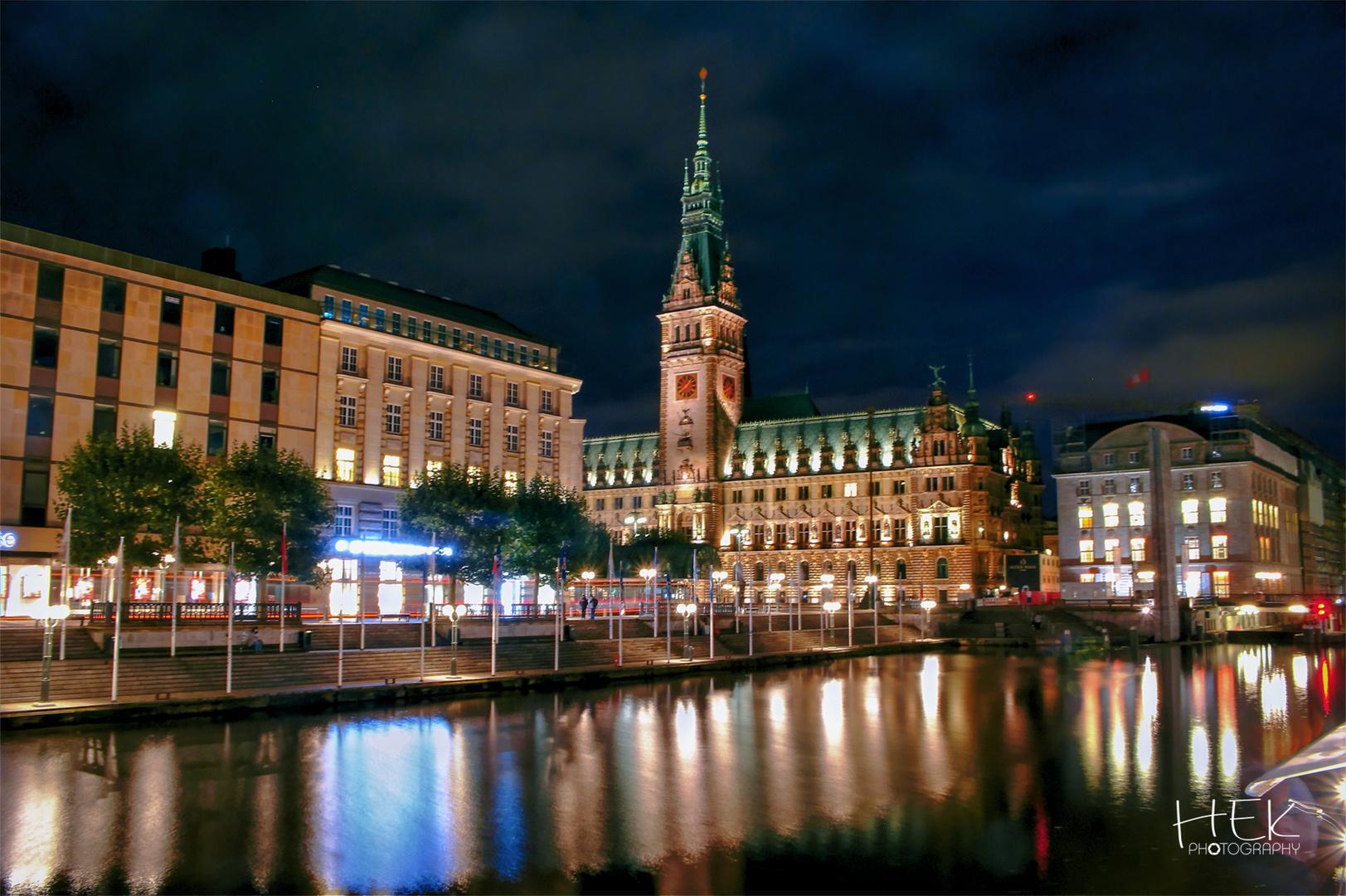 Das Rathaus - Hamburg, De