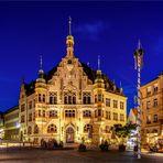Das Rathaus Helmstedt...