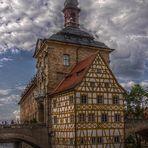 Das Rathaus in Bamberg ...