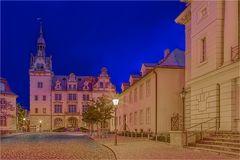 Das Rathaus in Bernburg