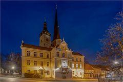 Das Rathaus in Burg