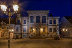 Das Rathaus in Calbe Saale