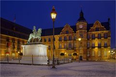 Das Rathaus in der Altstadt