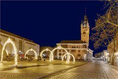 Das Rathaus in Dessau