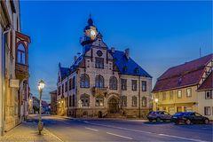 Das Rathaus in Heldrungen