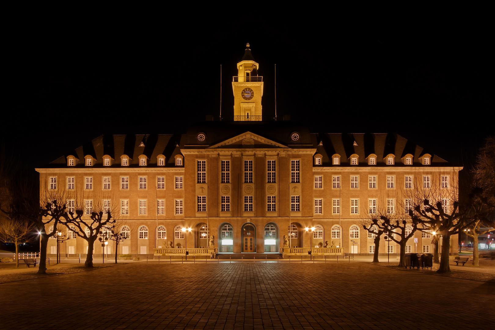 Das Rathaus in Herne