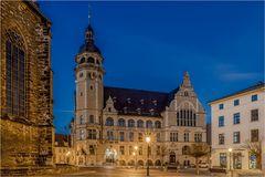 Das Rathaus in Köthen