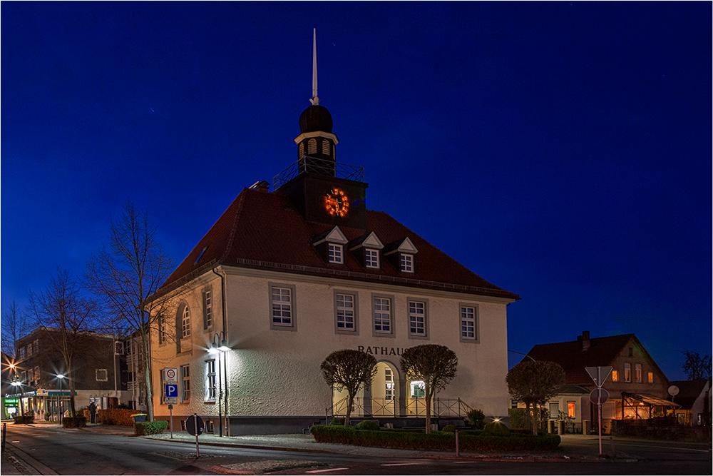 Das Rathaus von Bad Essen